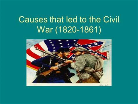 Causes and Effects of the Civil War - Essay